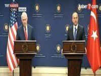 Tillerson, YPG Sorularını Geçiştirdi