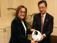 Japonya'nın Ankara Büyükelçisi Gaziantep'te