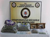 Tunceli'de uyuşturucu operasyonu