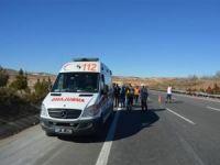 Yolcu minibüsü devrildi: 2'si ağır 7 yaralı