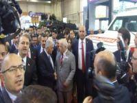 Başbakan Yıldırım'dan Katmerciler Standına ziyaret