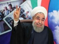 Ruhani yeniden cumhurbaşkanı seçildi!