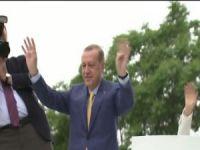 Cumhurbaşkanı Erdoğan Arene'da