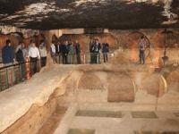 Mardin'de tarihi mezarlık, su sarnıcı ve zindan turizme açıldı