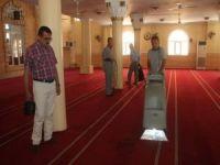 Kızıltepe'de Ramazan öncesi cami temizliği