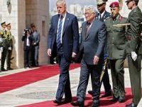 Trump Filistin'de protesto edildi