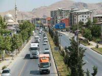 Van'da şehir içi trafiğine düzenleme
