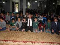 Okul Cami Buluşması sevinci
