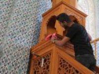 Çatışmada hasar gören camiler Ramazan'a hazır