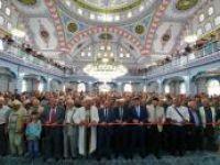 Gaziantep'te yeni yapılan cami dualarla açıldı