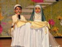Kur'an'ı hatmeden çocuklara taç giydirilip, diplomaları verildi