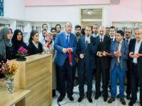 Van'da imam hatip lisesinde kütüphane açıldı