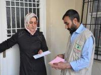 IHO EBRAR'dan ihtiyaç sahiplerine nakdi yardım