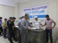 Şırnak Belediyesinden 2 bin kişiye iftar