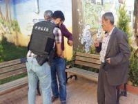 Mardin'de dilenci operasyonu