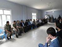 Vali Ahmet Deniz, Yüksel'in ailesine taziye ziyaretinde bulundu
