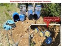 Diyarbakır'da PKK sığınakları imha edildi!