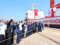"""""""Umudu Ol"""" yardım gemisi Somali'ye uğurlandı"""