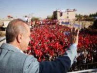 Cumhurbaşkanı Erdoğan Ceylanpınar'da halka hitap etti