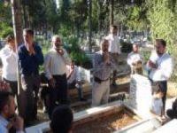HÜDA PAR Mersin Teşkilatından kabir ziyareti