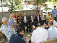 HÜDA PAR'dan İstanbul cami saldırısı mağdurlarına ziyaret