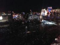 Mardin'de korkunç trafik kazası! 2 Ölü 6 Yaralı!