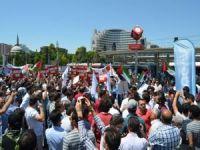 Siyonist çete Kayseri'de lanetlendi