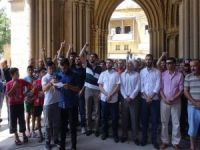 Siyonist işgalciler Kıbrıs'ta telin edildi