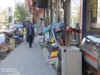 Bingöl'de kaldırım işgallerine 98 bin TL ceza kesildi