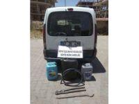 Mardin'de mazot hırsızlığı operasyonu!