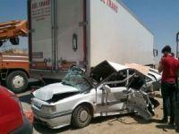 Nusaybin'de trafik kazası!