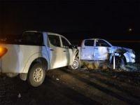 Batman'da trafik kazasında 2 kişi yaralandı