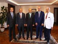 ATO Yönetimi'nden Başbakan Yardımcısı Işık'a ziyaret