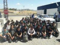 Bingöl'de yabancı uyruklu 62 kişi yakalandı