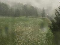 İstanbul'da şiddetli yağmur ve dolu etkili oldu
