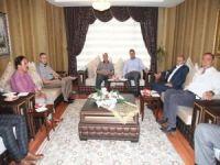 Kaymakam Öztürk'ten kurumlara ziyaret
