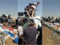 Şanlıurfa'da TIR devrildi: Bir yaralı
