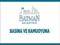 """Batman Belediyesi'nden """"Nevruz Alanı"""" haberlerine yalanlama"""