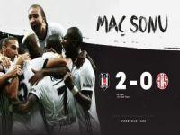 Beşiktaş rahat kazandı: 2-0