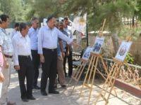 """HAKSİAD'dan """"Kudüs"""" temalı resim sergisine ziyaret"""