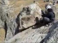 Vali Deniz: Hasankeyf'te düşme tehlikesi bulunan kayalar yıkılıyor!