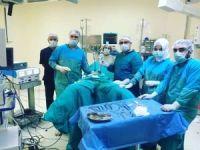 Batman'da ilk kez laparoskopi yöntemi ile rahim alma ameliyatı