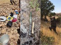 Yakalanan PKK'lı saklanan malzemelerin yerini gösterdi