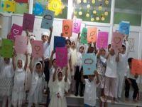 Miniklerin Kur'an kursu karne heyecanı