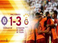 G.Saray, Osmanlı'yı rahat geçti: 3-1