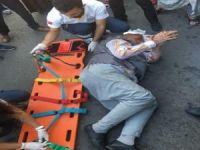 Diyarbakır'da trafik kazası!