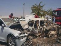 Diyarbakır'da feci kaza: 3 ölü