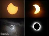 ABD'de tam güneş tutulması gerçekleşti