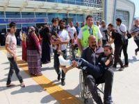 Traktör kazasında yaralanan çocuklar Mardin'e getirildi