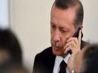 Cumhurbaşkanı Erdoğan, Putin ve Macron'la Afrin'i görüştü